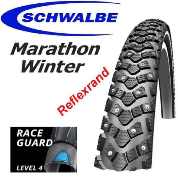 Schwalbe Dubbdäck Marathon Winter